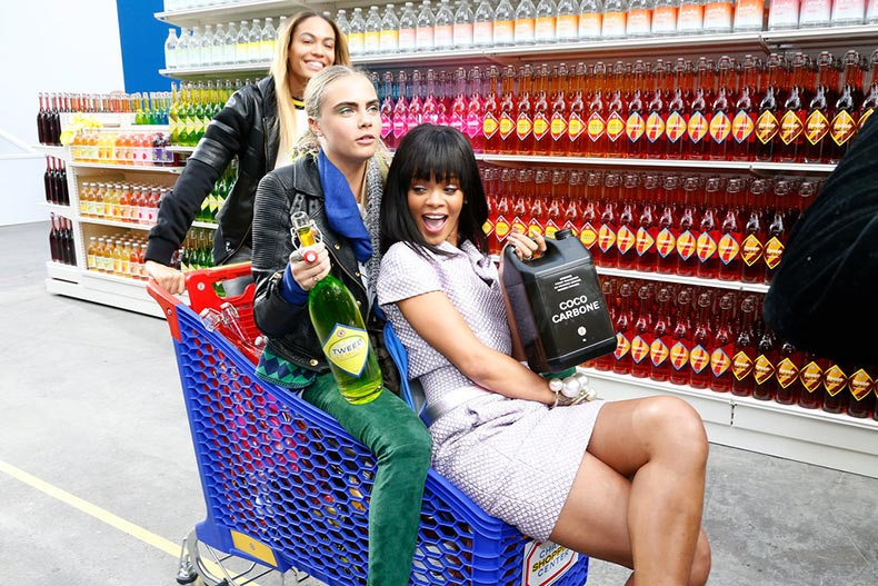 Yes-even-shopping-cart-Chanel-approved