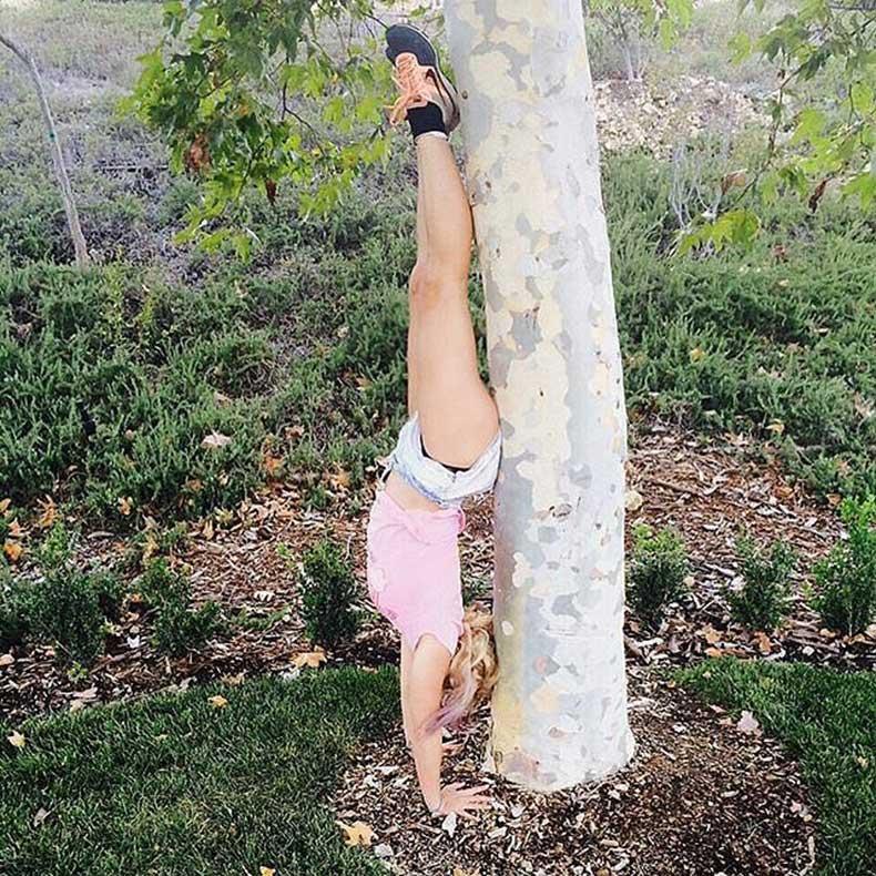 little-handstand-practice-Britney