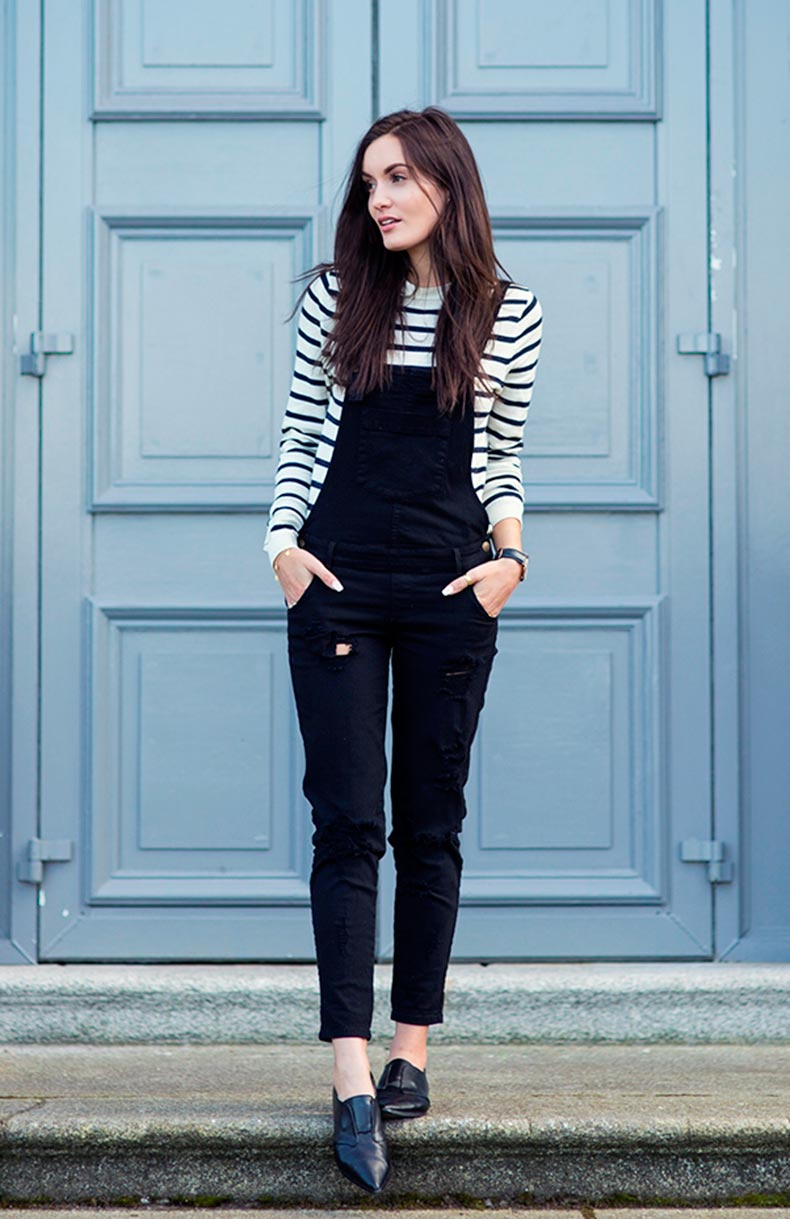 stripe-top-with-black-overall-bmodish