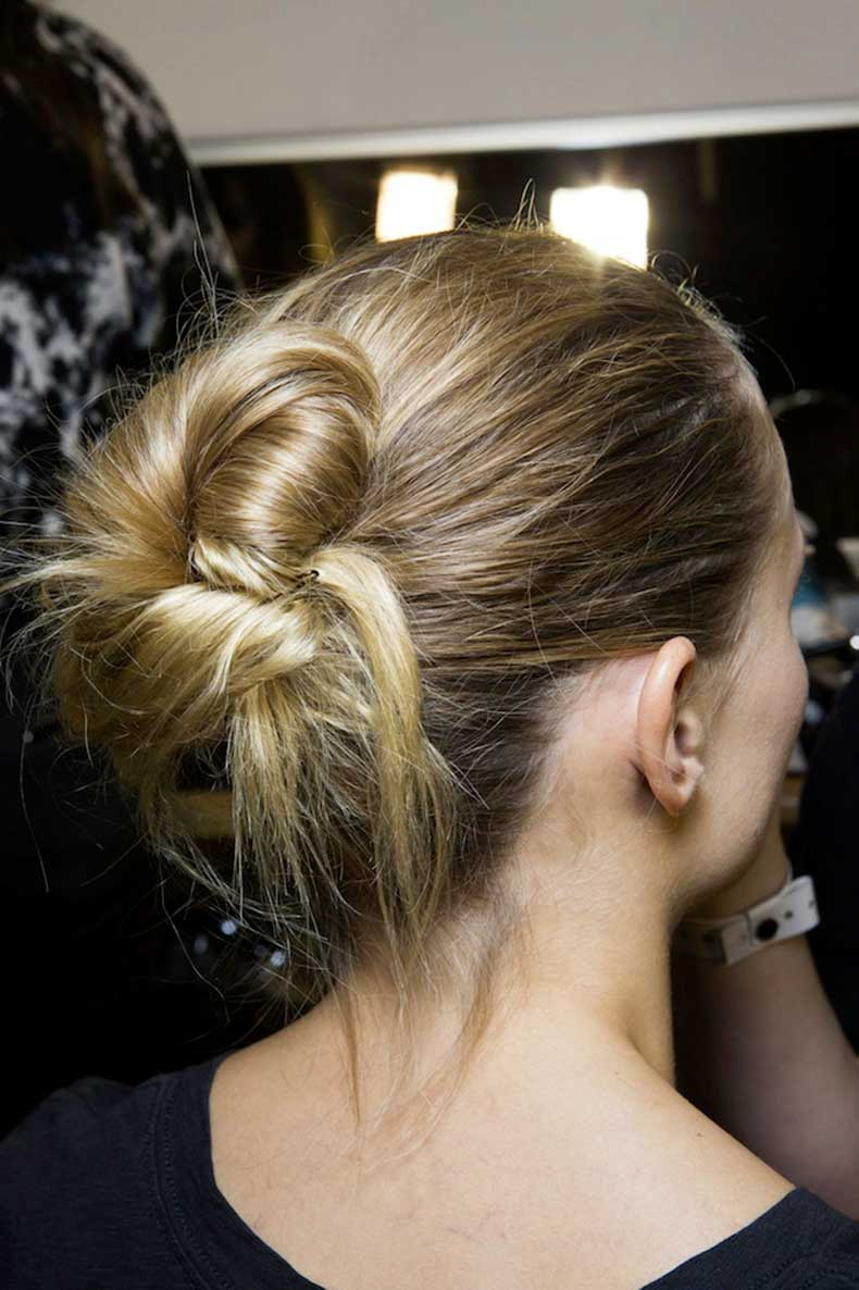 4-Le-Fashion-Blog-Backstage-Beauty-Hair-Inspiration-Twisted-Messy-Buns-Isabel-Marant-FW-2015-Blonde-Up-Do-Top-Knot