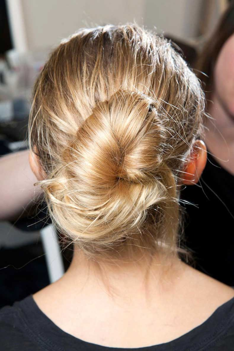 5-Le-Fashion-Blog-Backstage-Beauty-Hair-Inspiration-Twisted-Messy-Buns-Isabel-Marant-FW-2015-Low-Up-Do-Top-Knot