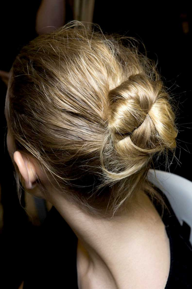 7-Le-Fashion-Blog-Backstage-Beauty-Hair-Inspiration-Twisted-Messy-Buns-Isabel-Marant-FW-2015-Textured-Up-Do-Top-Knot