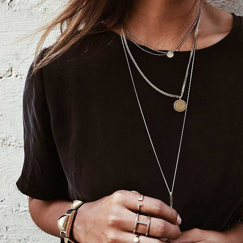 Dainty-Chain-Necklaces-Varying-Lengths