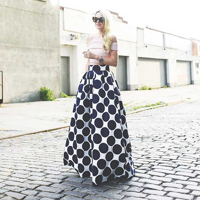 Fancy-Crop-Top-Looks-Elegant-Long-Maxi-Skirt