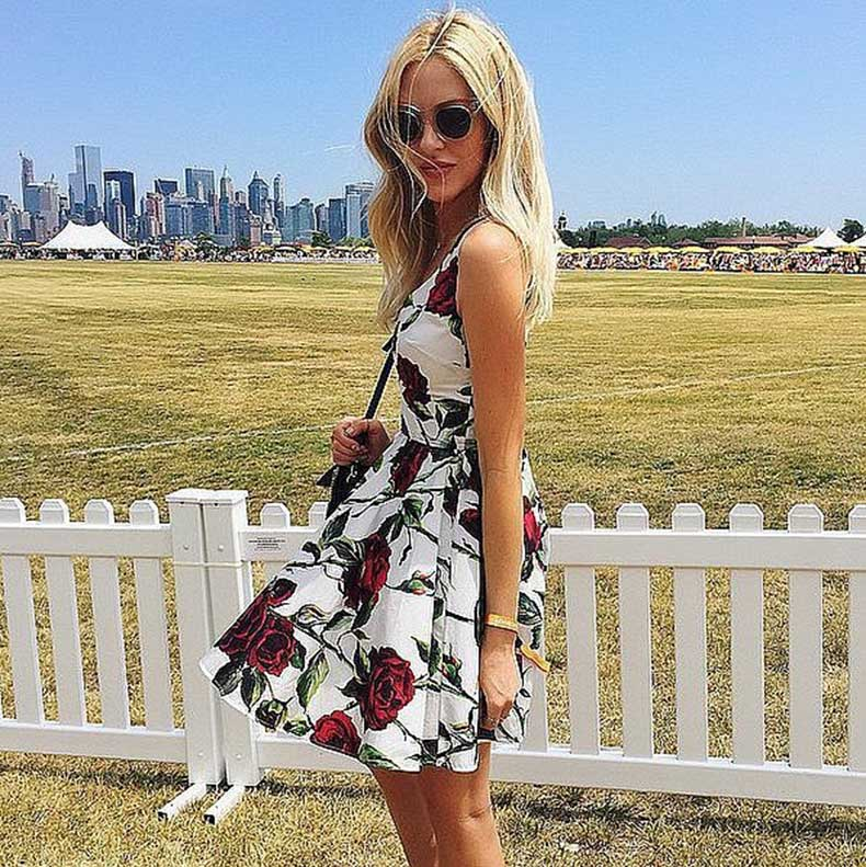 Floral-Dress-Sunglasses