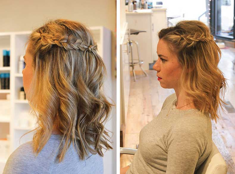Half-Crown-Braid