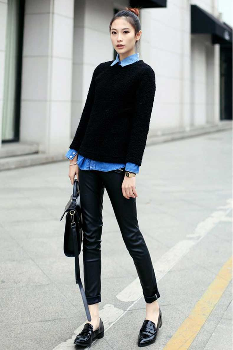 Preppy-look-for-street-style