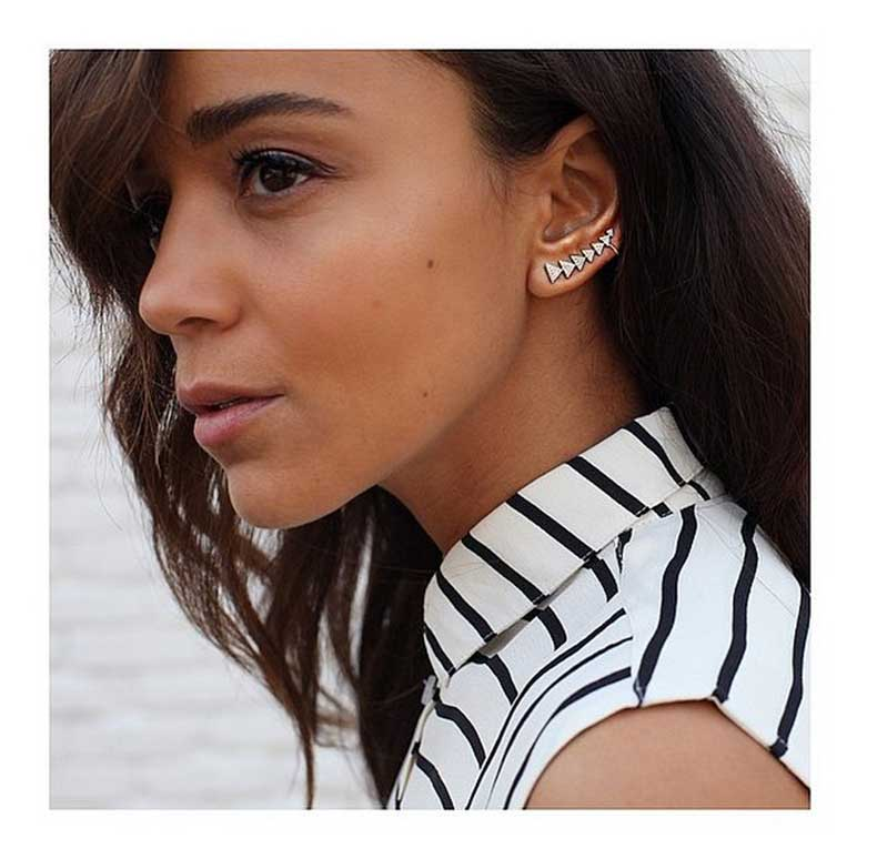 Row-Triangles-Ear-Cuff