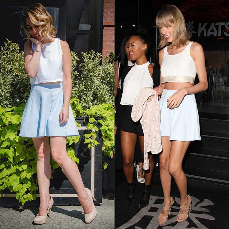 Taylor-loves-simple-blue-skirt-she-worn-public