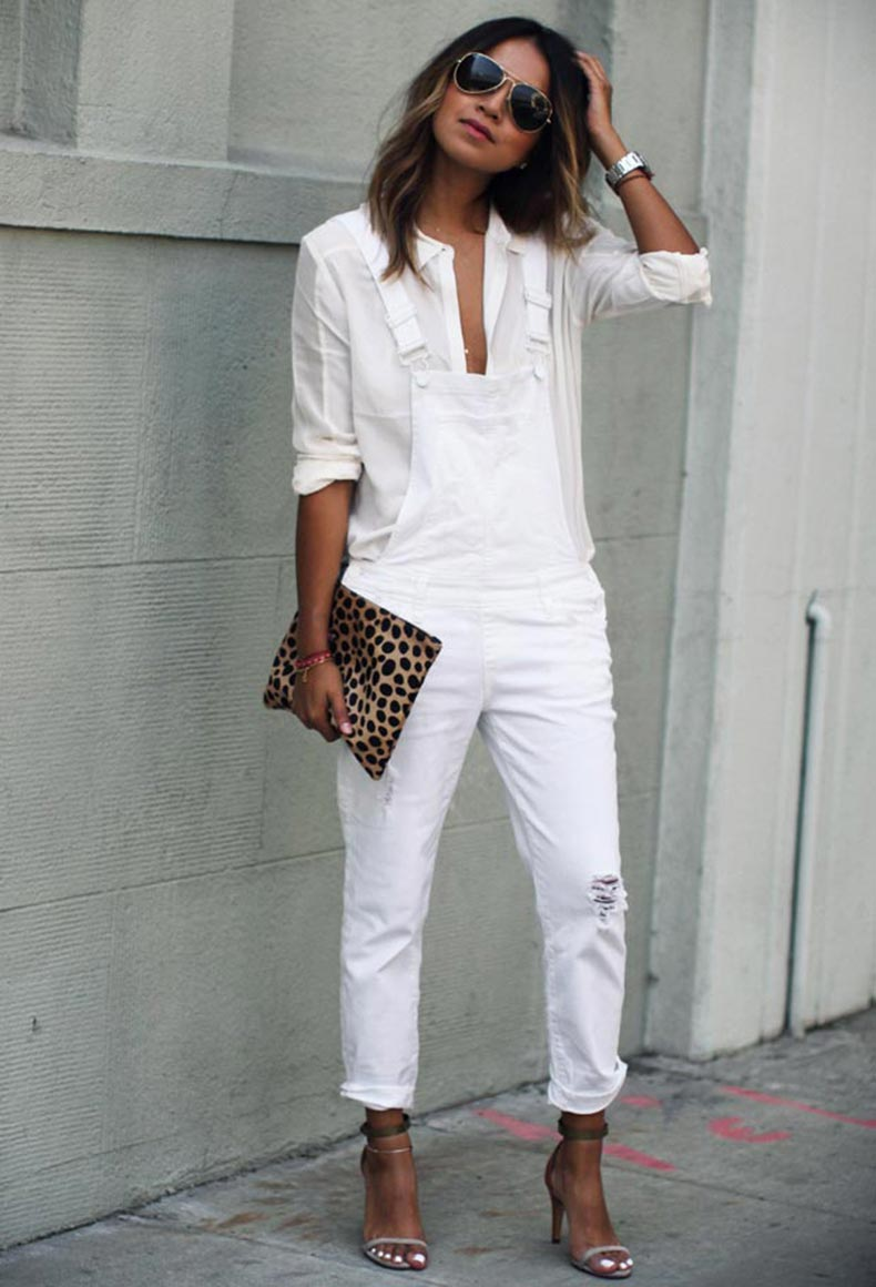 White-Suspender-Jumpsuit-Outfit