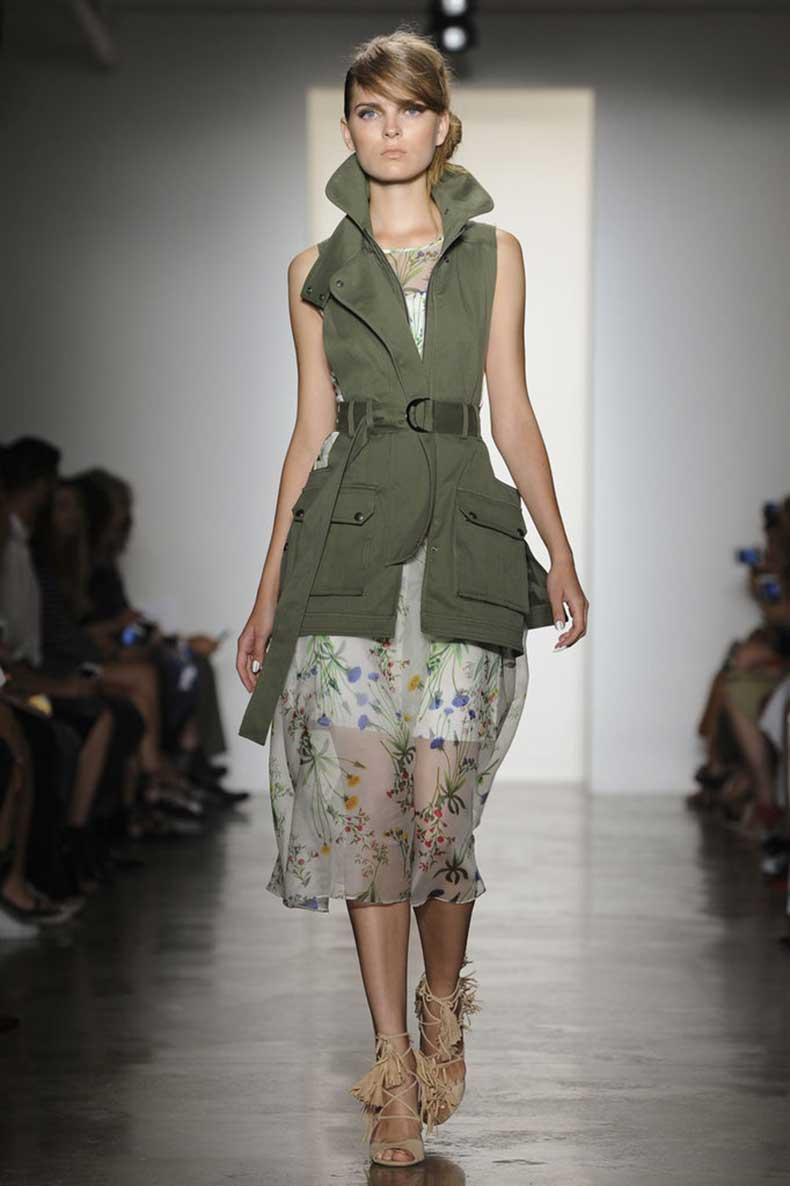 army-vest-toughen-up-floral-dress