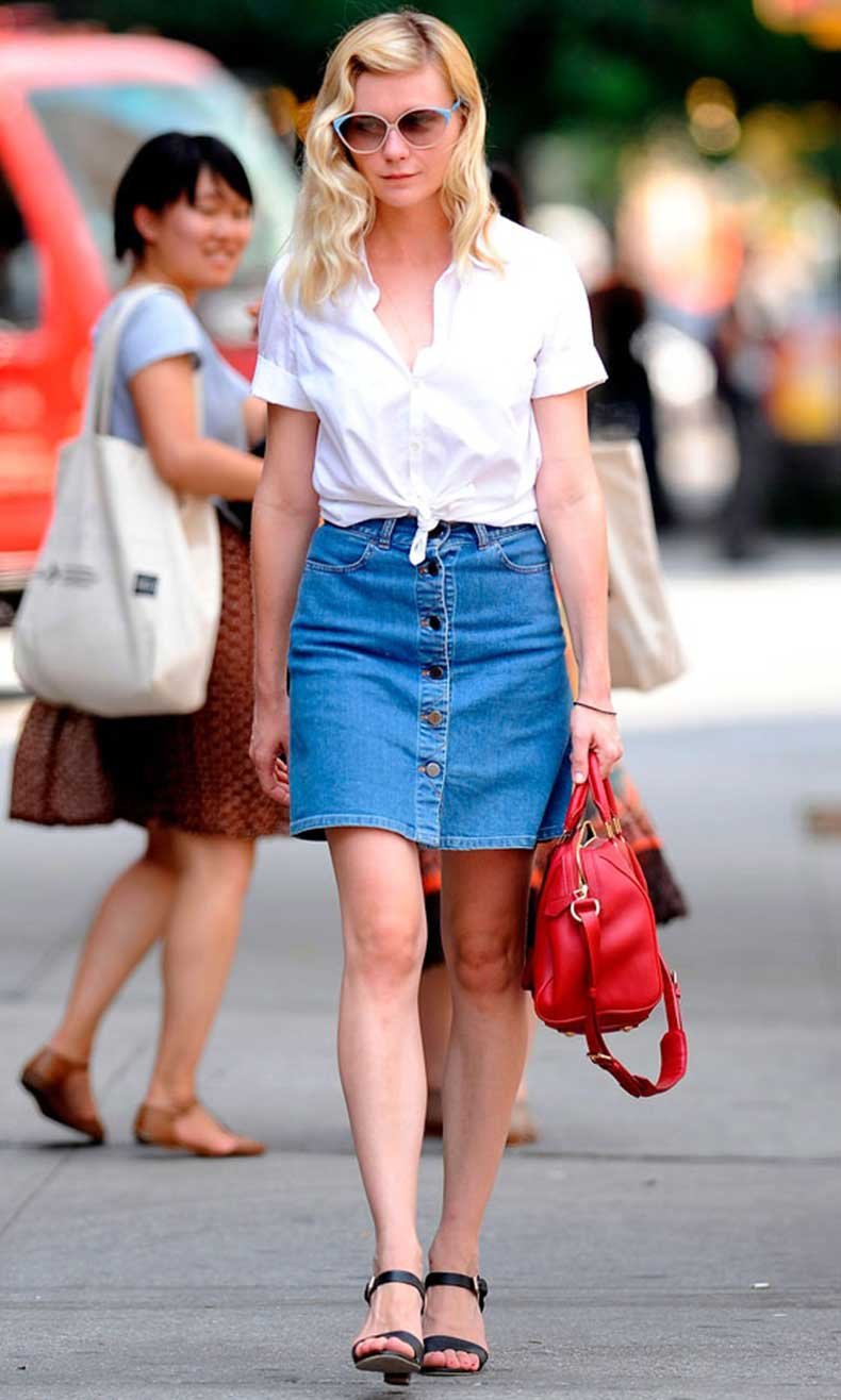 button-front-skirt-and-waist-tied-shirt