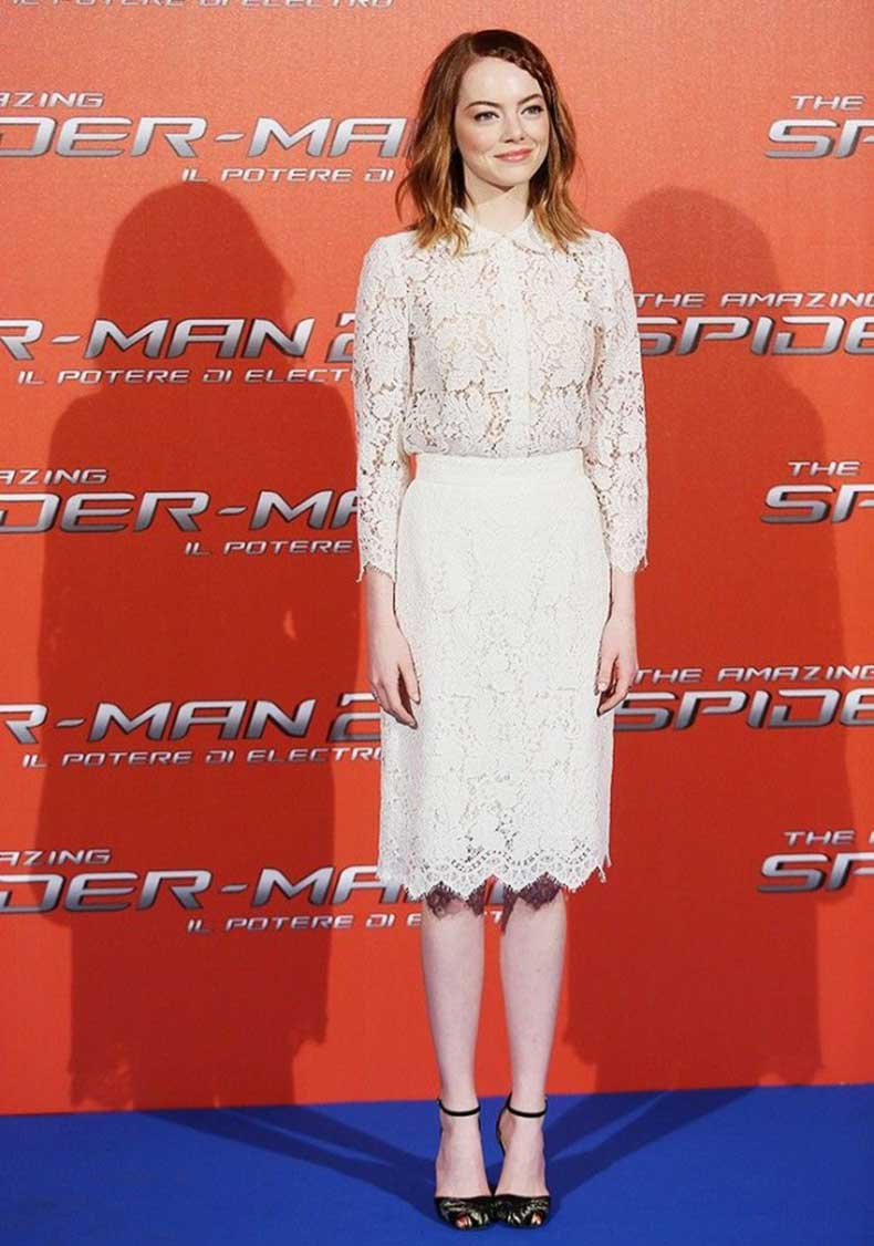 emma-stone-white-lace-pencil-skirt-blouse-via-getty-640x912