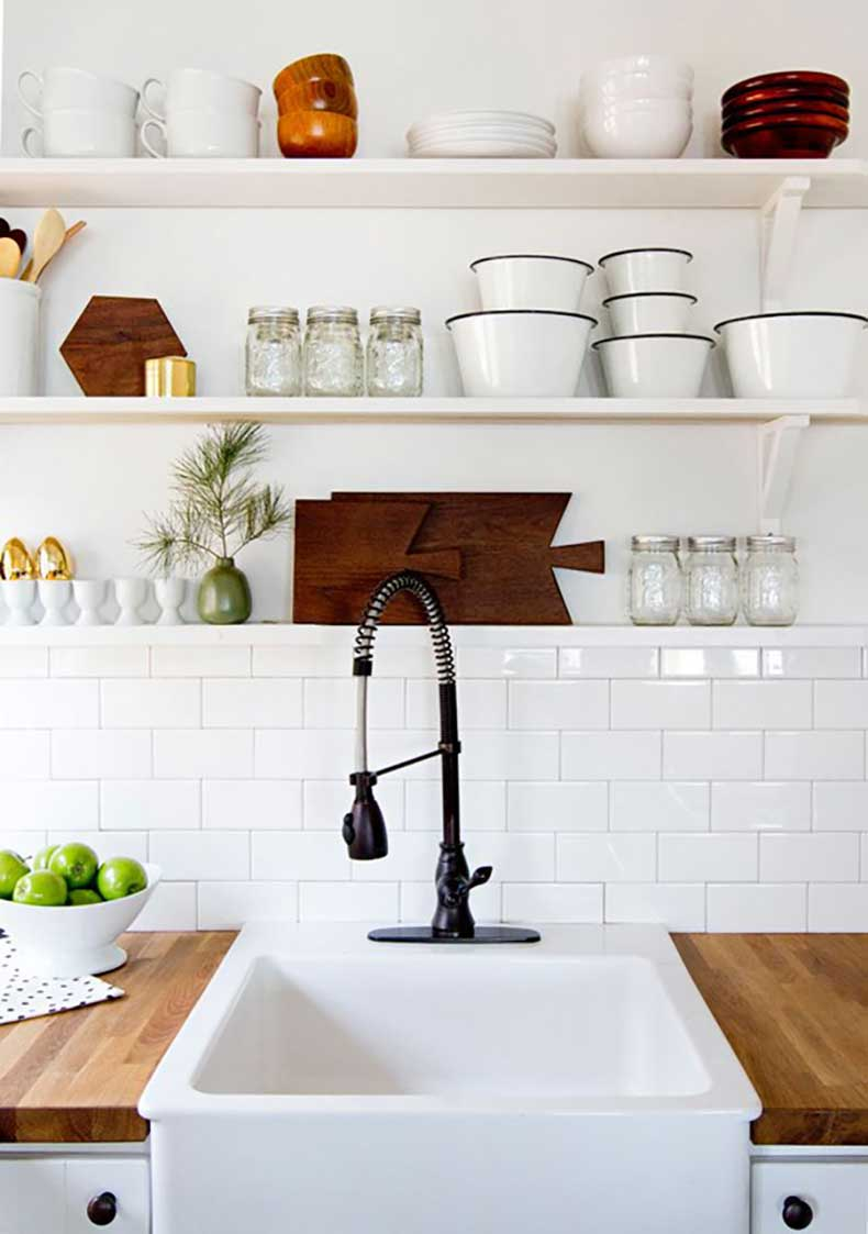 how-to-style-your-open-kitchen-shelving-the-artisan