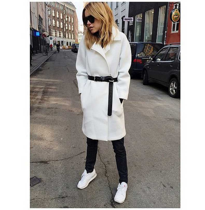 Belted-Coat-Jeans-Sneakers