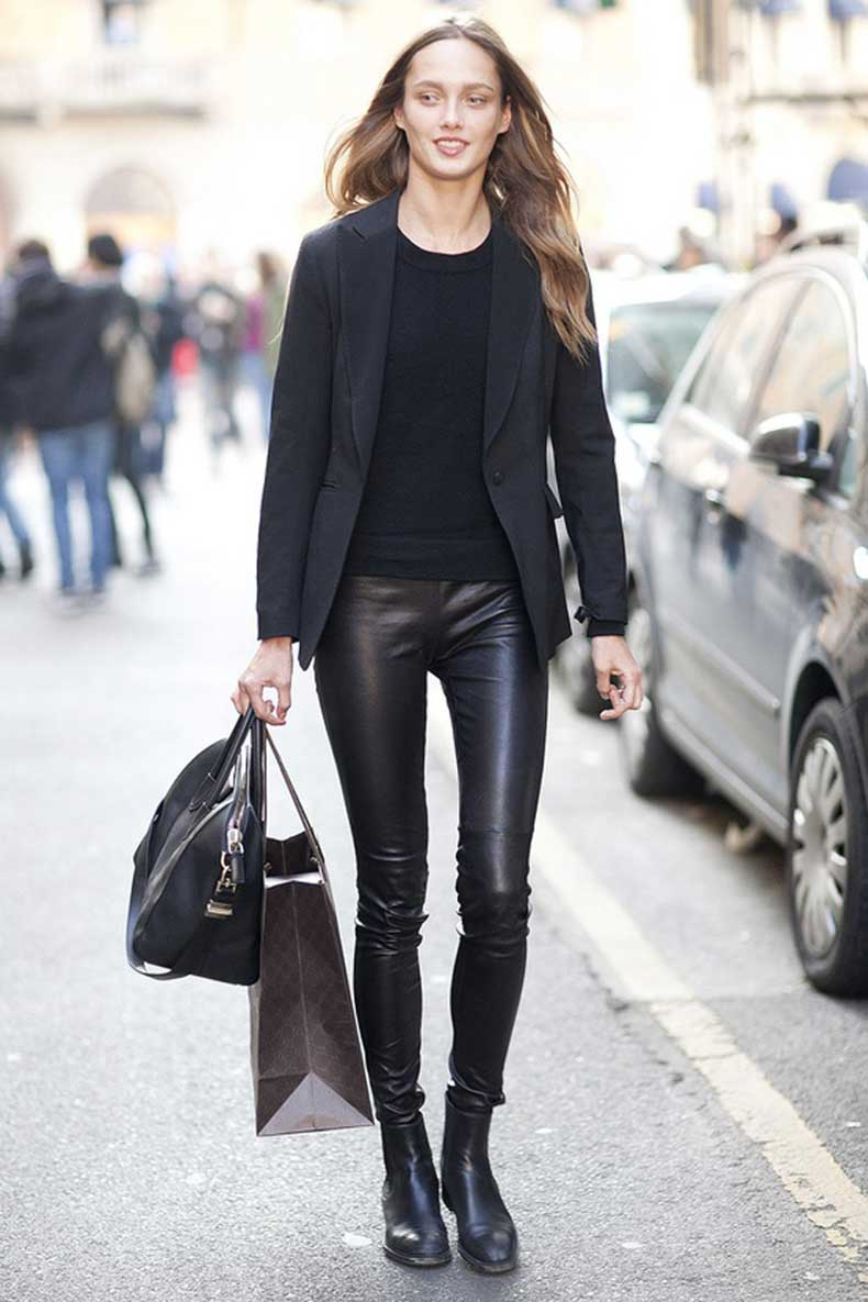 Black-Leather-Pants.-Model-street-style