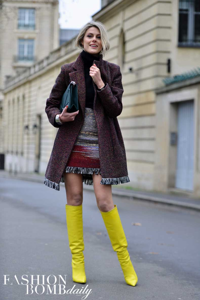 Bright-yellow-boots-added-a-jolt-of-color-to-this-berry-fringed-ensemble.-Hot-Image-by-David-Nyanzi