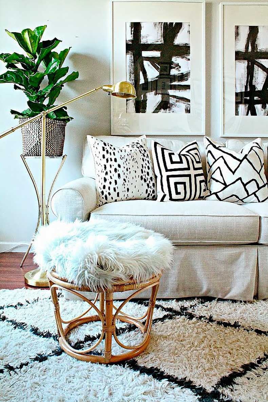 Burlap-Lace-gave-plain-pillow-covers-designer-look-using-fabric