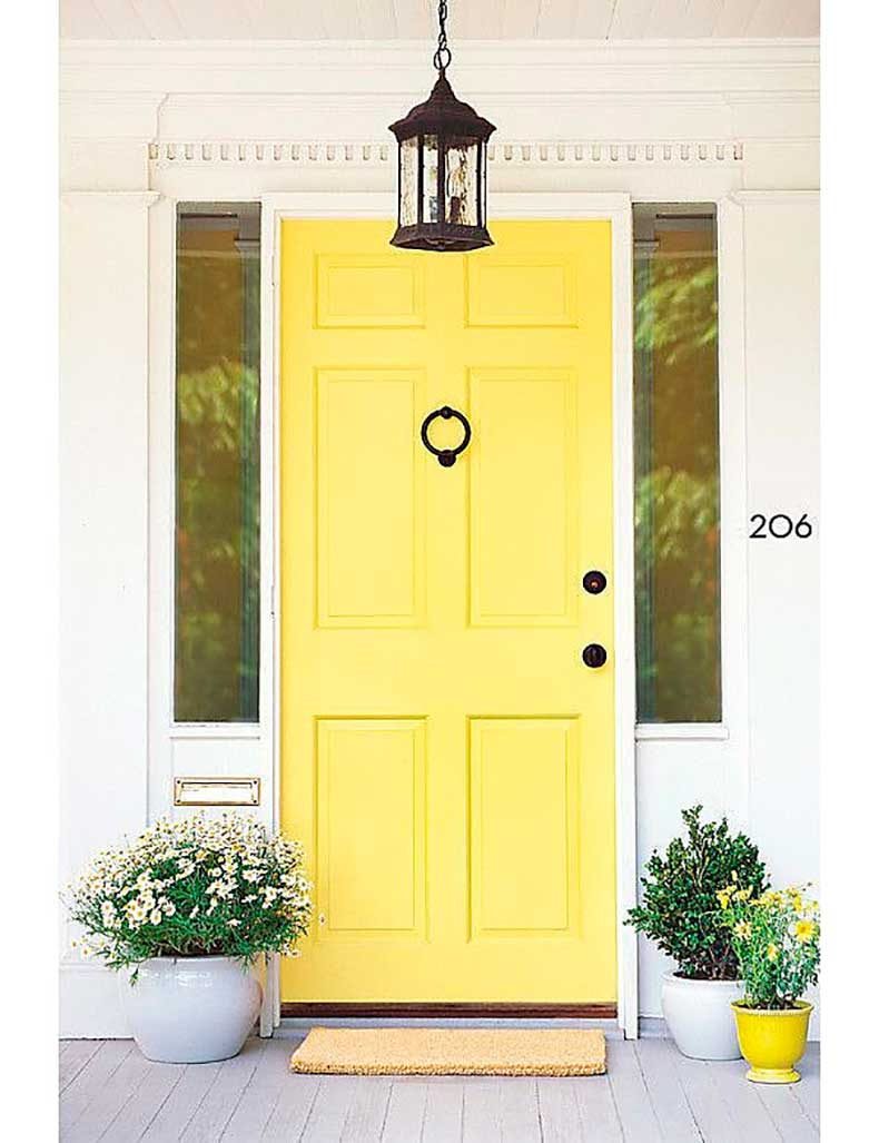 Canary-Yellow-Front-Doors