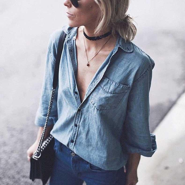 Denim-Top-Jeans