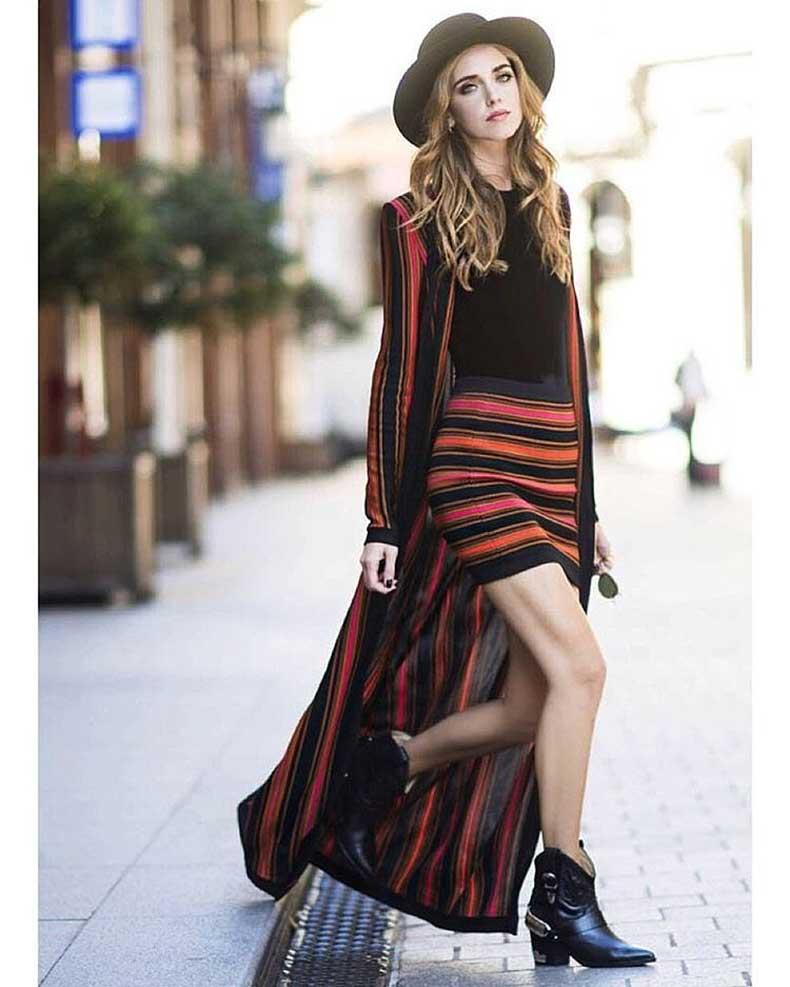 Duster-Jacket-Skirt-Set-Black-Top-Booties