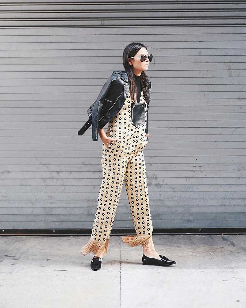 Leather-Jacket-Jumpsuit-Loafers