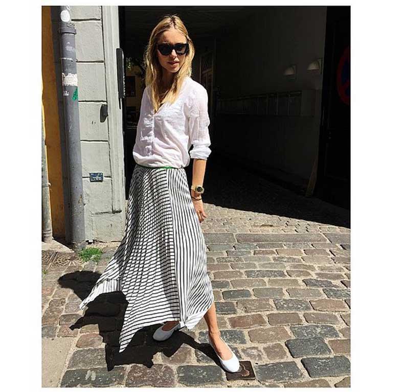 Long-Skirt-Button-Down