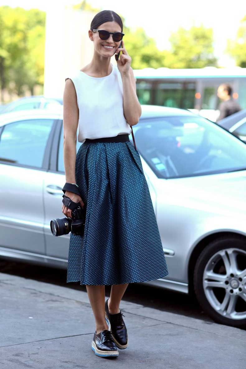 Midi-Skirts-Are-In-Style-For-2015-4