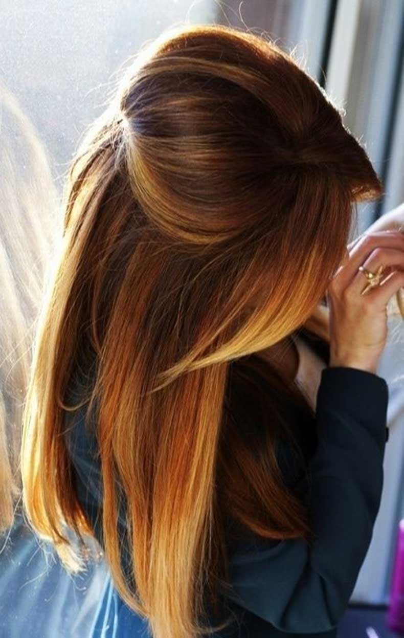 Pretty-Hair-Color-for-Fall-Straight-Long-Hair