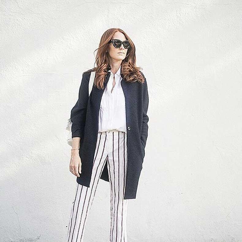Printed-Pants-Button-Down-Cozy-Jacket