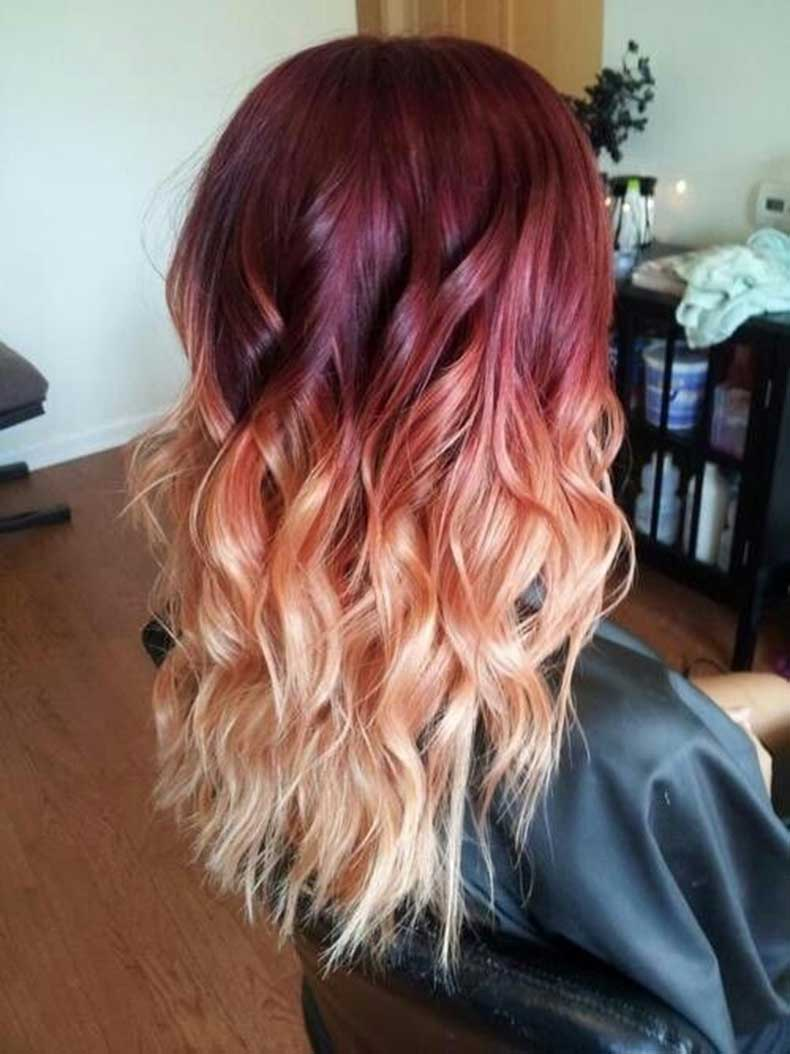 Red-Blonde-Ombre-Hair