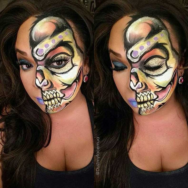 Skeleton-Makeup-(13)