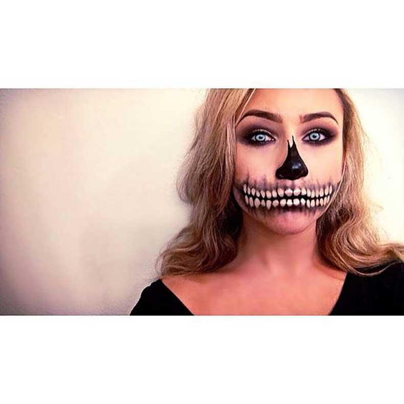 Skeleton-Makeup-(15)