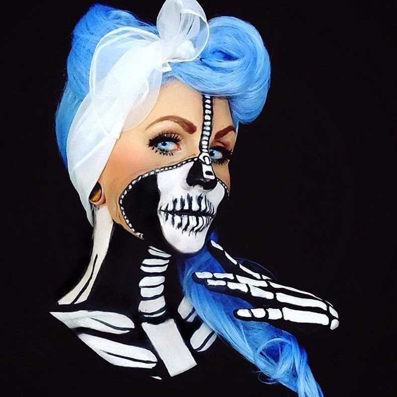 Skeleton-Makeup-(32)