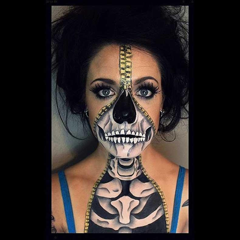 Skeleton-Makeup-(7)