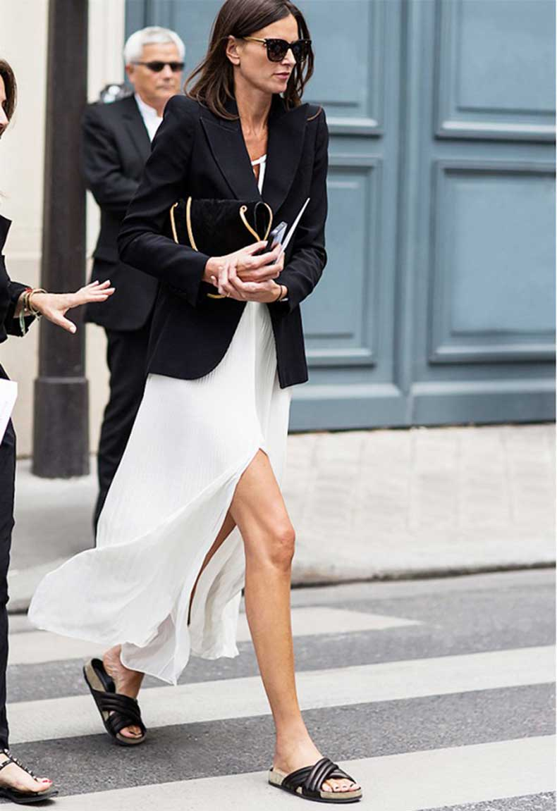 Street-style-effortless-chic-Isabel-Marant-slide-sandas