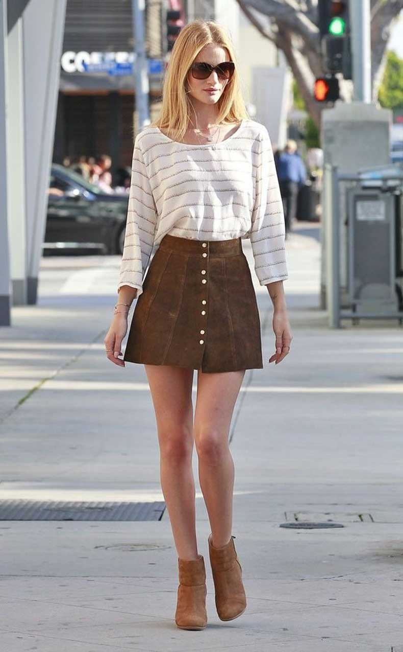 front-button-suede-skirt