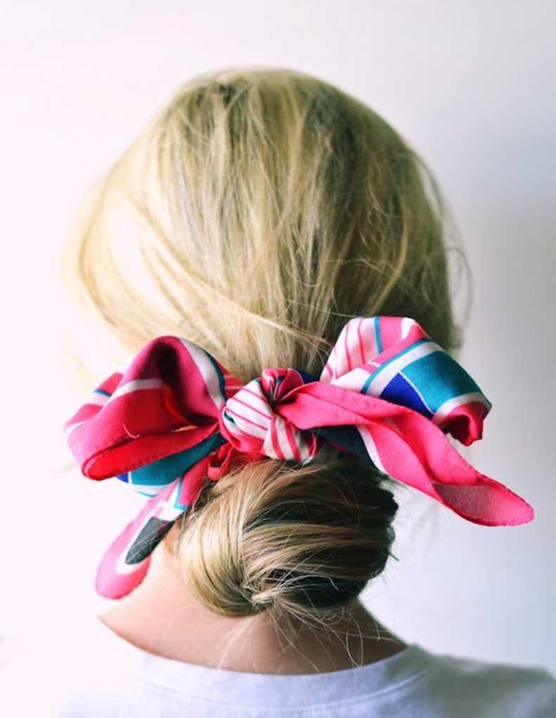 scarf-wrapped-bun