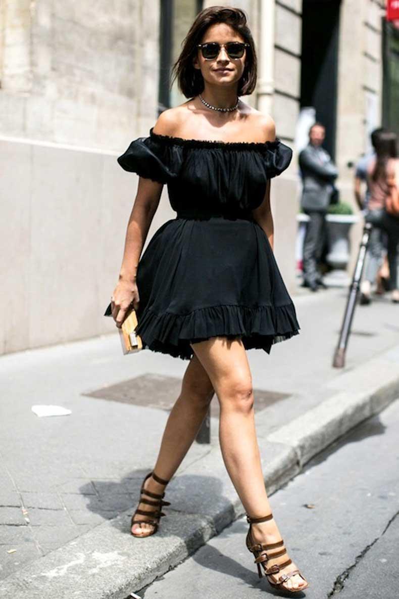 1-Le-Fashion-31-Stylish-Ways-To-Wear-An-Off-The-Shoulder-Look-Black-Dress-Street-Style-Miroslava-Duma-Via-Vogue-Russia
