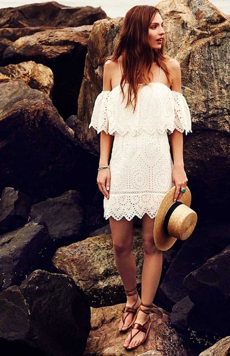 16-Le-Fashion-31-Stylish-Ways-To-Wear-An-Off-The-Shoulder-Look-Saylor-Vineyard-Embroidery-Daisy-Romper