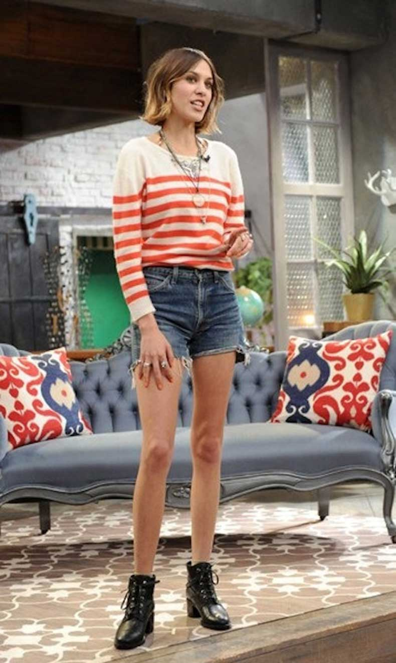 18-Le-Fashion-Blog-40-Of-Alexa-Chung-Best-Looks-With-Denim-Shorts-Red-Striped-Knit-Jean-Cut-Offs-Lace-Up-Ankle-Boots-Via-Vogue-Japan