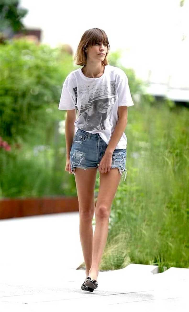 29-Le-Fashion-Blog-40-Of-Alexa-Chung-Best-Looks-With-Denim-Shorts-White-Band-Tee-Jean-Cut-Offs-Flats-Via-Denimology