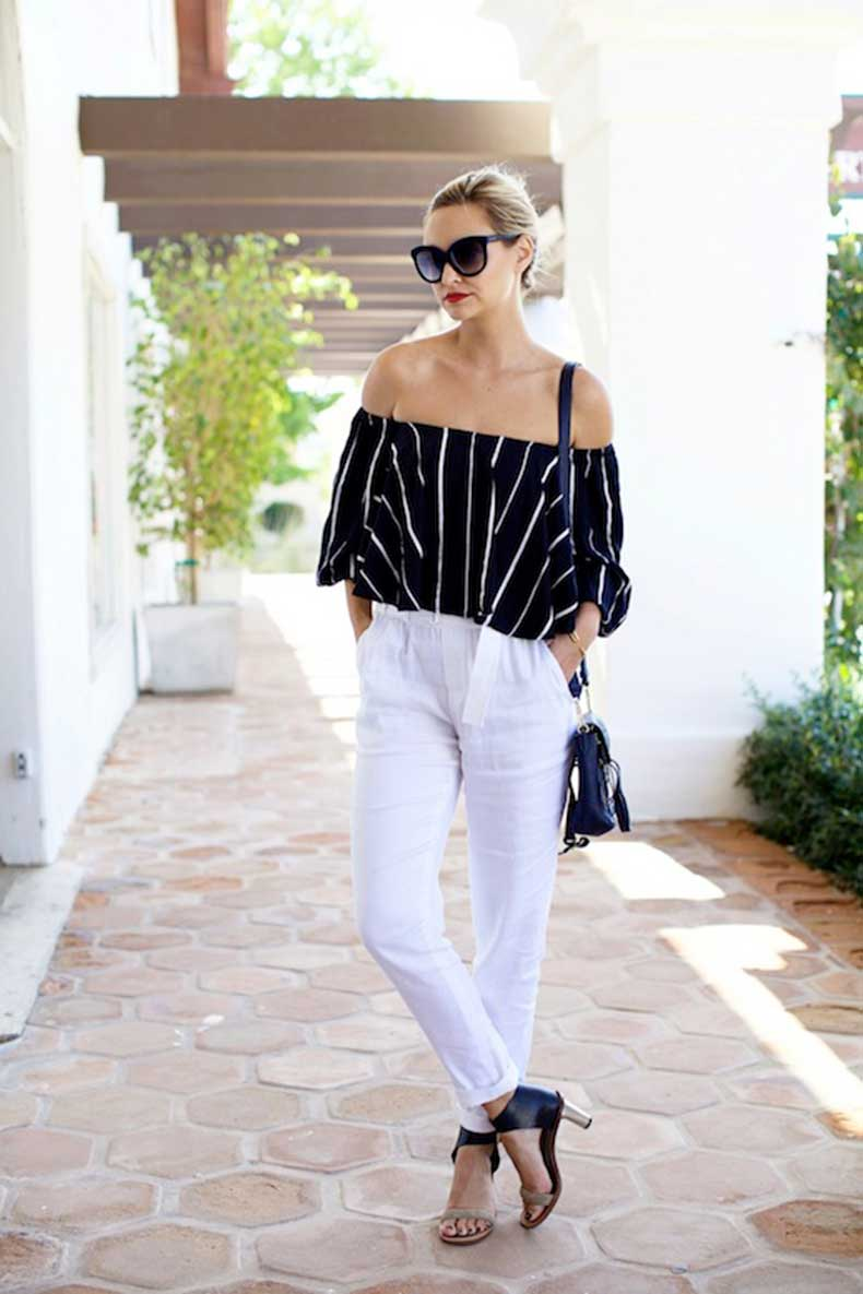 5-Le-Fashion-31-Stylish-Ways-To-Wear-An-Off-The-Shoulder-Look-Via-Late-Afternoon