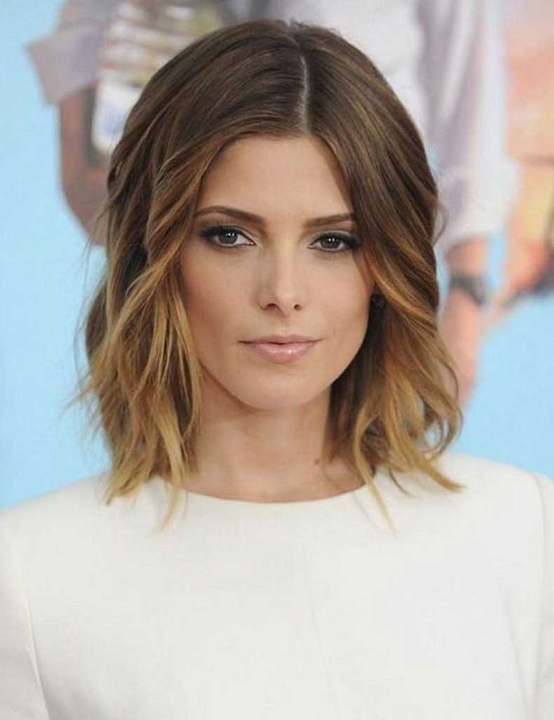 Beautiful-Ombré-Wavy-Bob-Hair-Cut-Shoulder-Length-Hairstyles