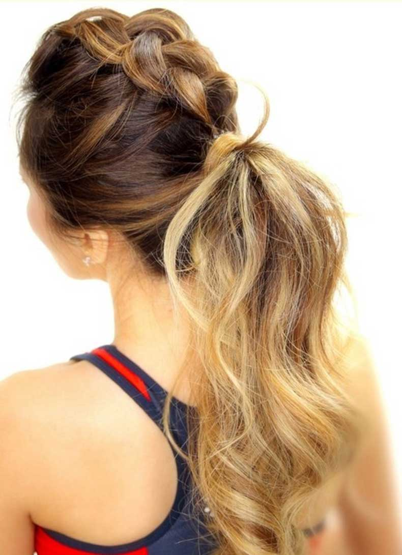 Cutest-Braid-Ponytail-Long-Hairstyles-for-Summer-2015