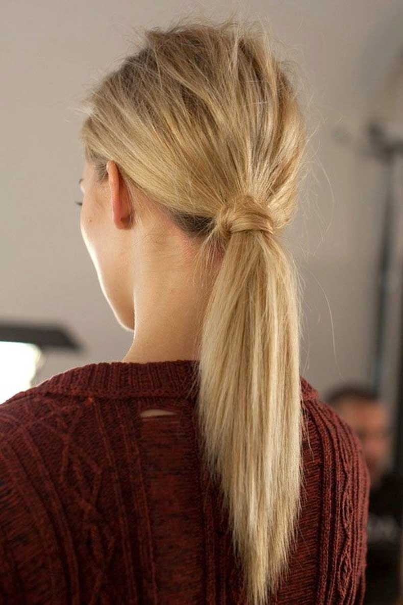 Easy-Ponytail-Everyday-Hairstyles-for-Long-Hair