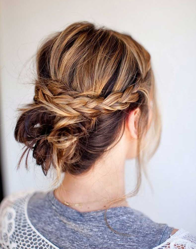 Messy-Braid-Bun-Updos-Women-Hairstyles-for-Summer-2015