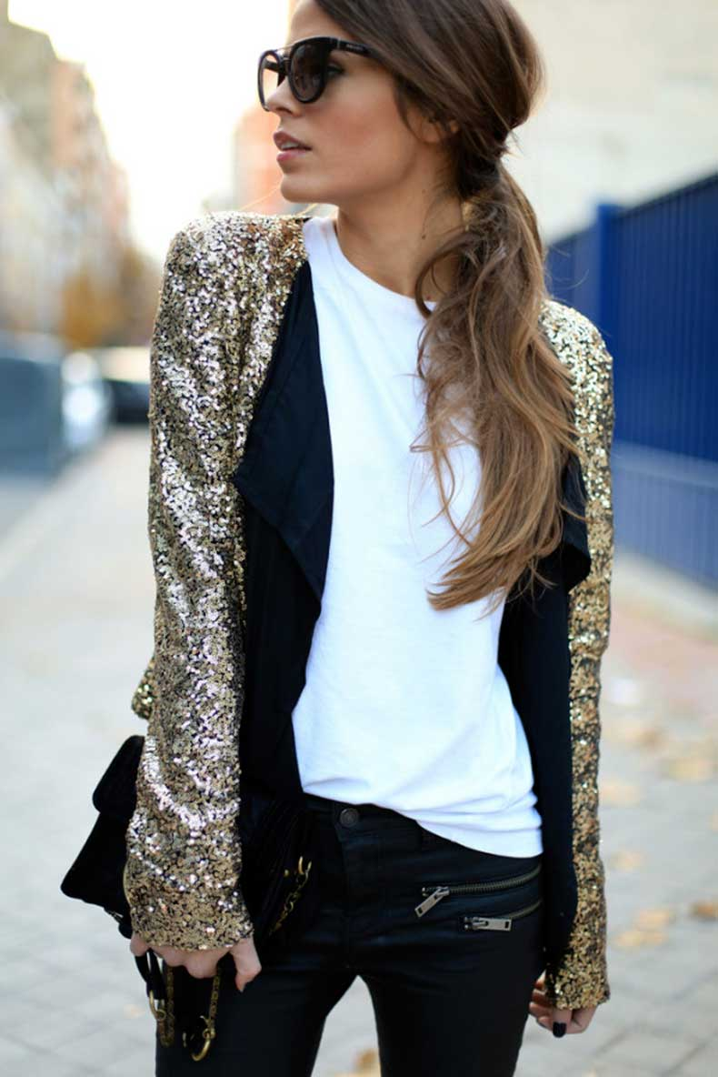 New-Years-Eve-Style-Fashion-Blogger-Street-Style-Gold-Sequined-Blazer-600x899