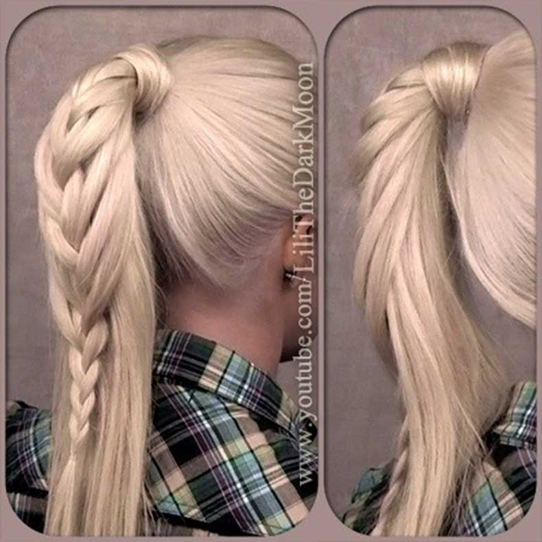 Pretty-Braided-Ponytail-High-Ponytail-Hairstyles