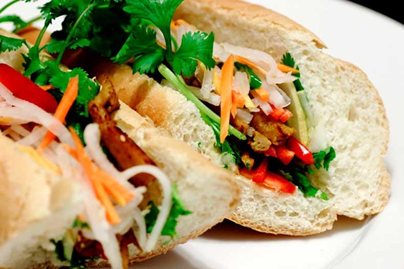 Vegetarian-Bánh-Mì